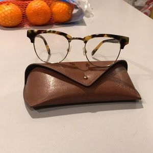Warby Parker Hayes eyeglasses 50mm tortoise